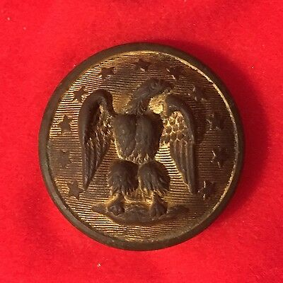 Dug Confederate Staff Officer's Button
