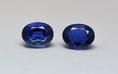 100% NATURAL FACETED KYANITE OVAL PAIR BEST QUALITY KYANITE GEMSTONE SIZE  7x10