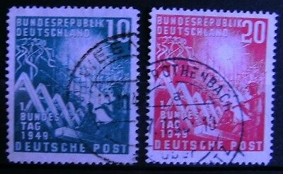 GERMANY (West) 1949 Opening of West German Parliament Set used