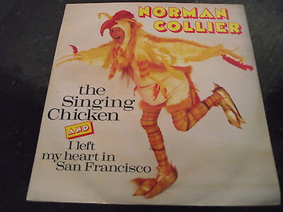 Ex Norman Collier The Singing Chicken Uk 1988 Tembo Tml 133 7 Inch Single