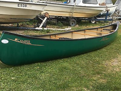 Old town Canoe 16ft Royalex Camper, 2 seater, plus 2 paddles, great condition.