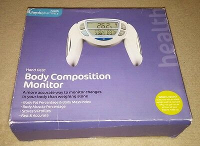 Lloyds Pharmacy Hand Held Body Composition Monitor BMI