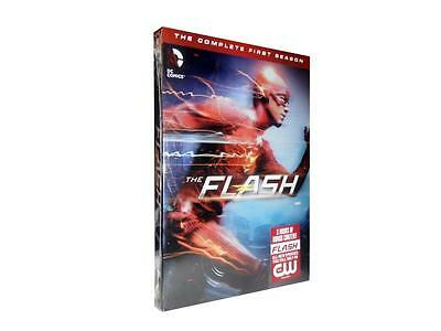 The Flash: The Complete First Season 1 (DVD, 2015, 5-Disc Set)