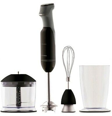 Kitchen Hand Held Blender Mixer Stick Electric Food Processing Whisk Measure Cup