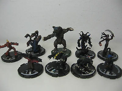 Mage Knight 9 Monster Werebear Magma hydra Impaler Cat Hound Gorgon Imp Guardian