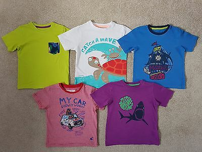 Boys T-Shirts Bundle Age 2-3 Years - Catch a Wave