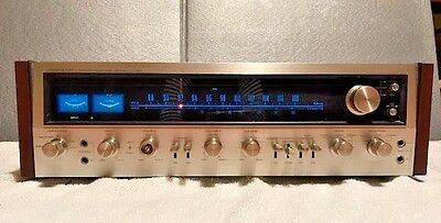 Pioneer SX-828 Vintage Receiver 1 Owner Serviced Tested 54WPC W/ Speaker Plugs