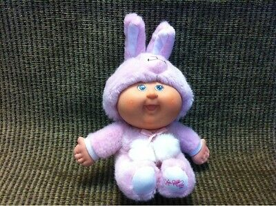 Sitting Cabbage Patch Doll 6'' tall Pink Bunny Rabbit 1978 2008