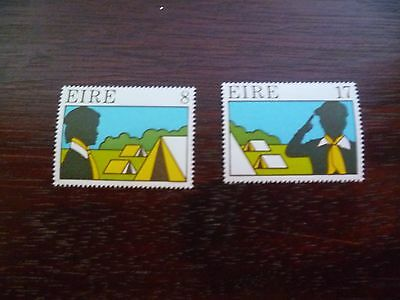 Ireland Stamps : 1977 Scouting and Guiding MNH