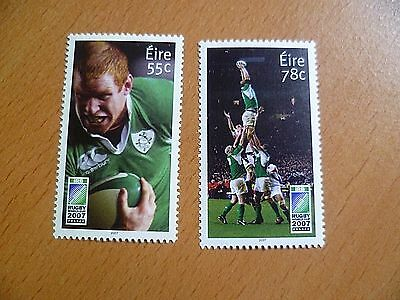 Ireland Stamps : 2007 Rugby World Cup, France  MNH