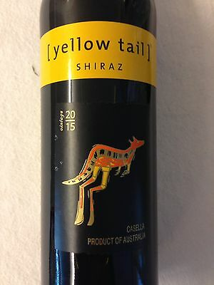 Shiraz Yellow Tail Australia 2015