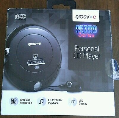 Groove Retro Series Personal Cd Player New In Box