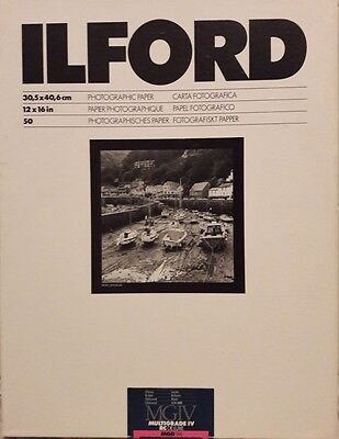 Carta Ilford Multigrade IV RC De Luxe - 30.5x40.6 - 50 fogli