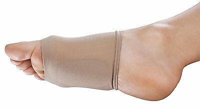 NatraCure Arch Support Sleeves with Gel Cushions 1 Pair pain relief compression