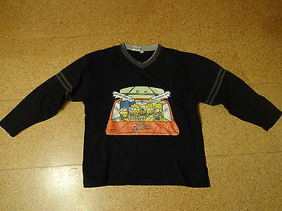*** The Simpsons *** Jungen Sweatshirt - Pullover - Pulli - Gr 164 - Schwarz ***