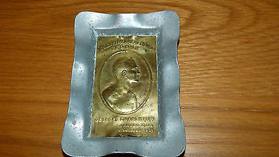 *REDUCED* GEORGE CARPENTIER v JACK DEMPSEY ASHTRAY JULY 2nd 1921 BOXING PIN