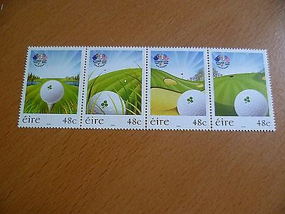 Ireland Stamps : 2006 Ryder Cup Golf Tournament, K Club, Kildare MNH