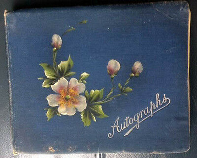 Old Autograph book of paintings and drawings