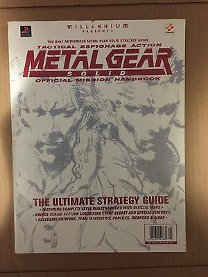 Metal Gear Solid Official Mission Handbook Strategy Guide PS1