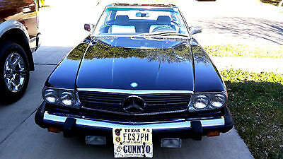 1989 Mercedes-Benz 500-Series Convertible Coupe Mercedes-Benz 560 SL Roadster Mdl. 107 Blue