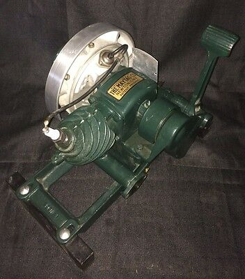 Maytag 92  Side Exhaust Engine Hit And Miss Motor Antique Washing Machine