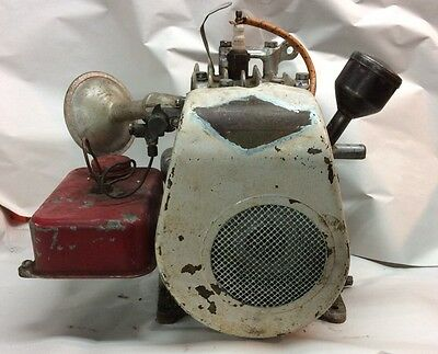 LEVER START Briggs & Stratton Gas Engine Motor Model WI Hit Miss Antique Vintage