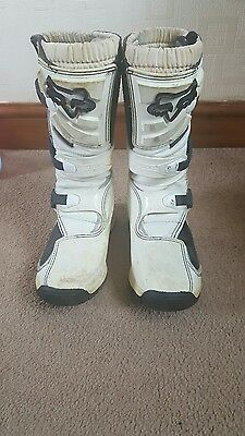 childs fox motocross boots