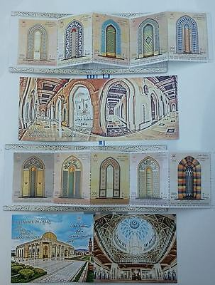Oman 2016 Sultan Qaboos great mosque two booklet with 10 stamps