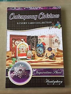 Hunkydory Contemporary Christmas Cardmaking Collection - Hardly Used