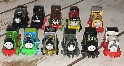 Fisher Price Thomas & Friends Minis Lot of 11 NEW No Doubles Free Shipping