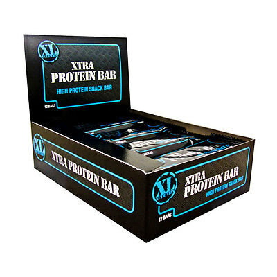 XL Nutrition Xtra Protein Bar 12 x 75g Bar(s) - Chocolate