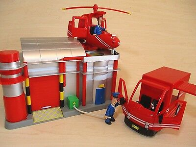 Postman Pat Toys - Helicopter Station & Refueling Point - Helicopter & Large Van