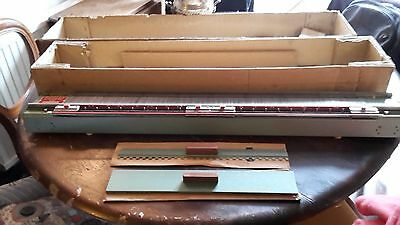 VINTAGE PASSAP KNITTING MACHINE MODEL M201 MACHINE BED + parts