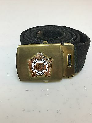 Canadian Army Argyll And Sutherland Unit Belt And Buckle