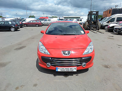 2006 (56) Peugeot 307Cc 2.0 Hdi Diesel Sport  Damaged Repairable Salvage 6 Speed