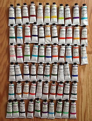 Brand New Lot Of 63 Gamblin Artist's Oil Colors 37Ml Paint Tubes