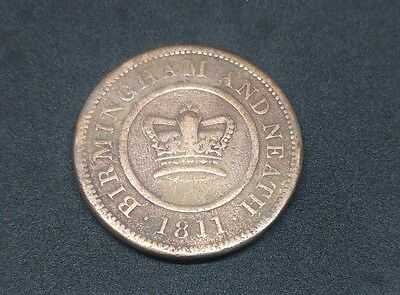 Birmingham And Neath Crown Copper Company One Penny 1811