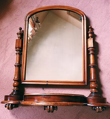 Antique Dress Top Swivel Mirror 1910
