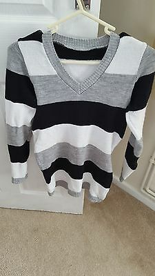 stripy maternity jumper- one size from Happy Mama