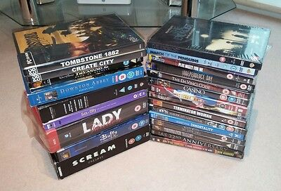 A Joblot Of DVDs - Boxsets - Disney - Horror - Scream - Dr Who - Mostly Sealed