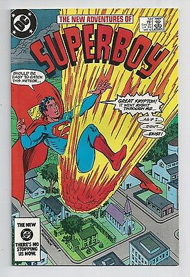 New Adventures Of Superboy #53 : Very Fine 8.5 : First Print