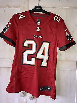 Tampa Bay Buccaneers NFL Shirt Nike Jersey Top Small S Womens American Football
