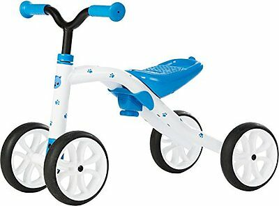 "Chillafish QUADIE: 4-Wheeled ""Grow-With-Me"" Ride-On Quad, Blue"