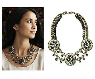 New Fashion Chunky Bib Statement Celebrity Double Chain Collar Necklace Choker
