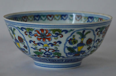 Antique Chinese Famille Rose Porcelain bowl, with Mark