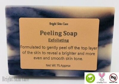 Peeling Soap Effective Skin Lightening Dark Spots 75g