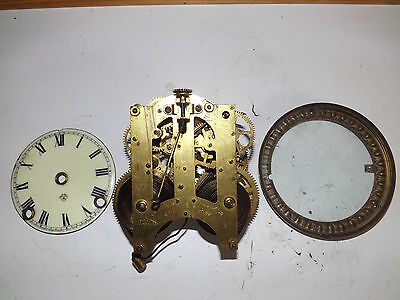 ANSONIA clock movement ,dial and bezel