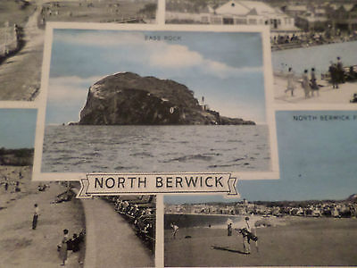 Postcard North Berwick East Lothian (5 Views)