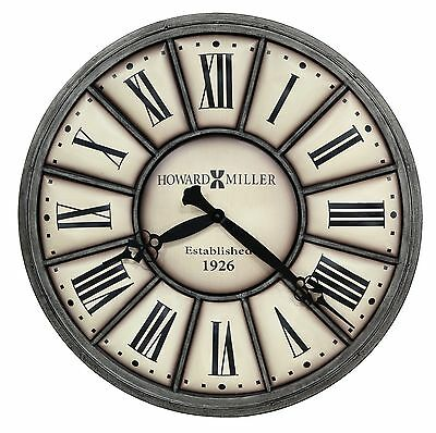 "Howard Miller Oversized Gallery Wall Clock 34""  ""Company Time Ii"" 625-613 625613"