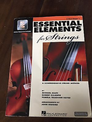 EUC Essential Elements for Strings Viola Book 1